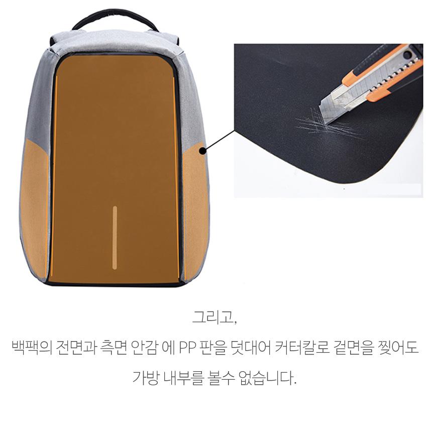 15  도난방지 백팩 해외 여행용 노트북 가방 - 시나몬샵, 25,000원, 백팩, 패브릭백팩