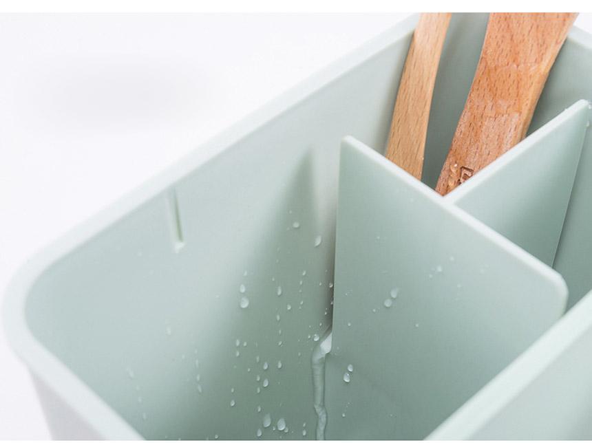 물빠짐 수저통 - 시나몬샵, 9,900원, 주방정리용품, 수저통