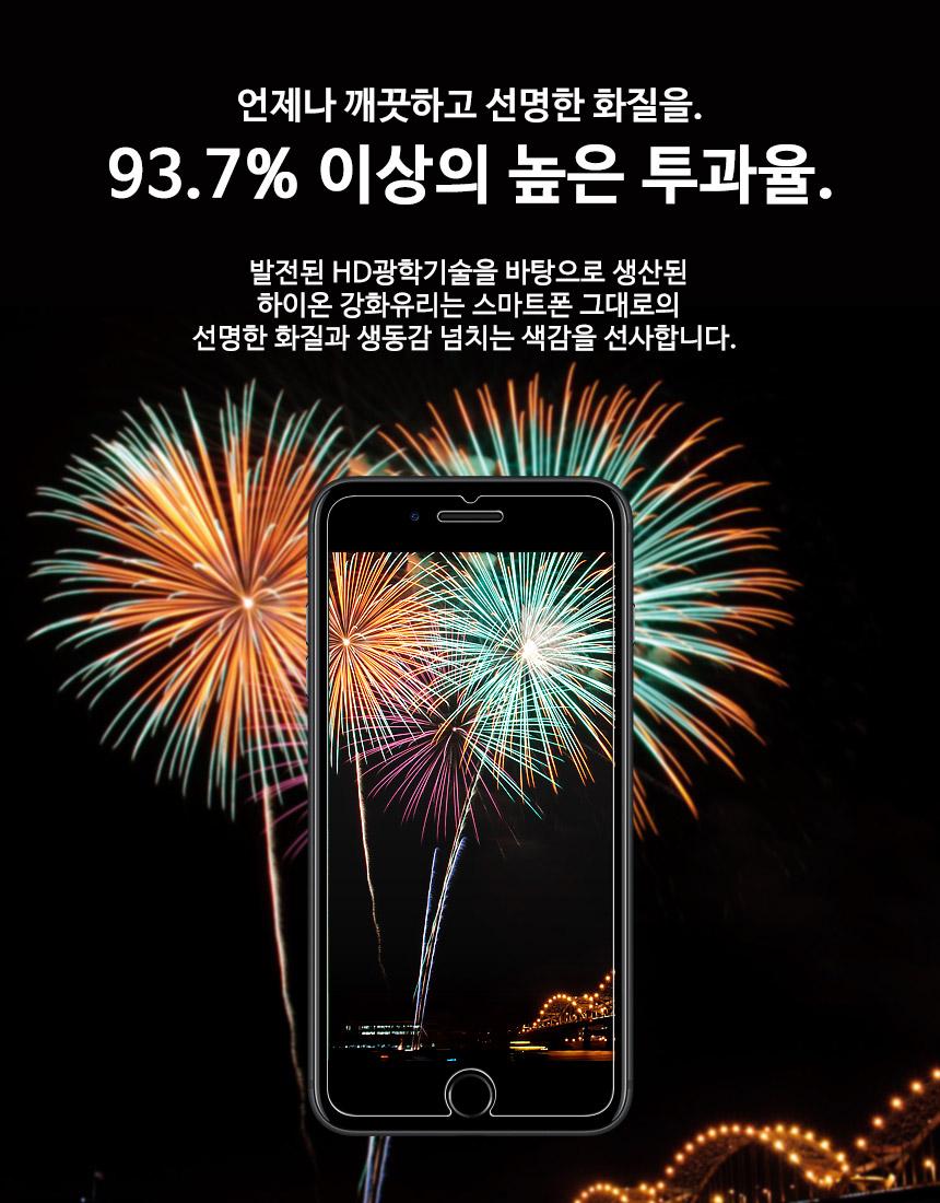 아이폰SE 5 5S 강화유리 5매 방탄 액정보호필름 - 하이온, 7,300원, 필름/스킨, 아이폰5/5S/5SE