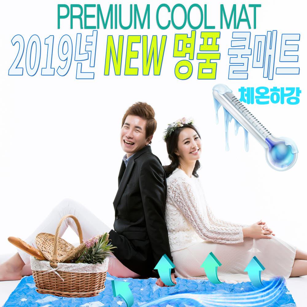 2019년 해바라 프리미엄 쿨매트 싱글매트
