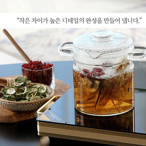 [D-EGO] 내열 유리 약탕기 2200ml_ D-GP2200