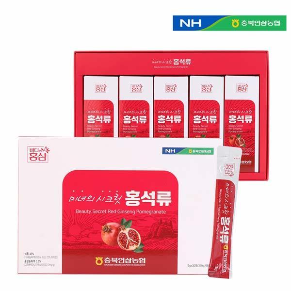 [충북인삼농협] 미녀의 시크릿 홍석류 13g X 30포
