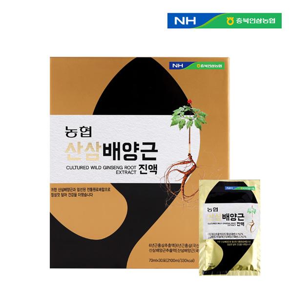 [충북인삼농협] 산삼배양근진액 70ml X 30포