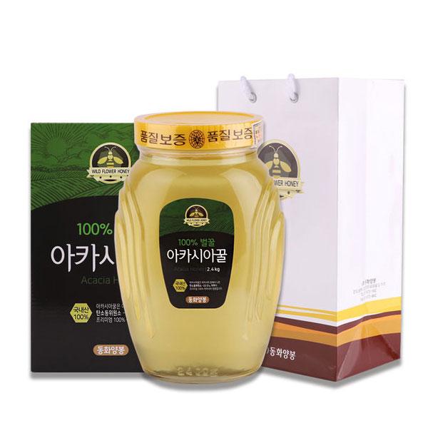 [동화양봉] 아카시아꿀 100%벌꿀 2.4kg