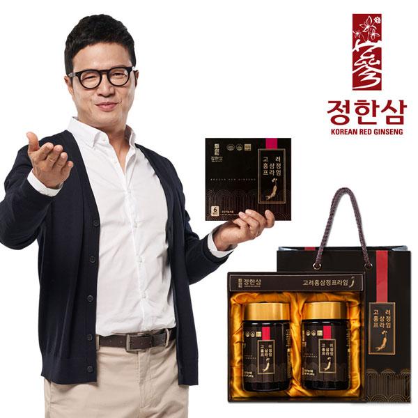 [개성인삼농협] 정한삼 고려홍삼정 프라임 240g X 2병
