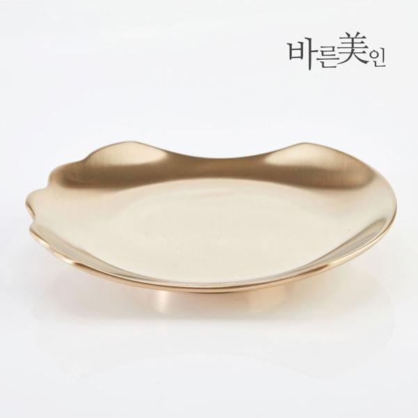 [바른미인] 방짜유기 접시괄사