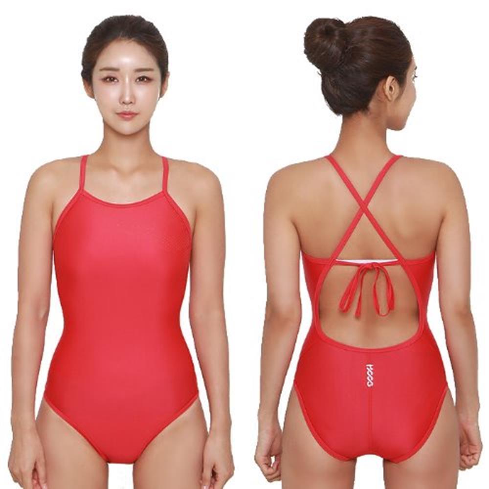 후그 신상 여자 수영복 WSA1131 스포츠의류 일반형