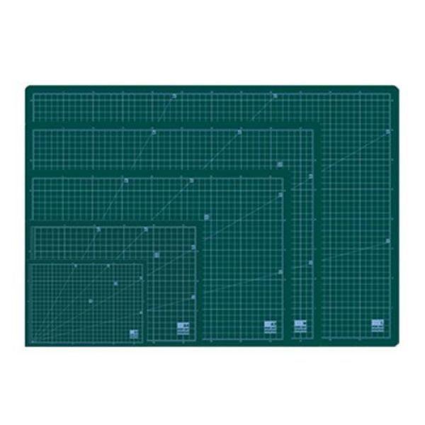 녹색 데스크 고무판 커팅 매트 제도판 A4(300x215)