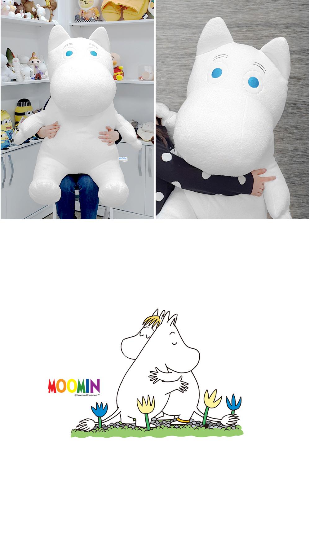 무민(moomin) 120cm 초대형 인형 - 무민, 120,000원, 빅사이즈인형, 120cm~140cm