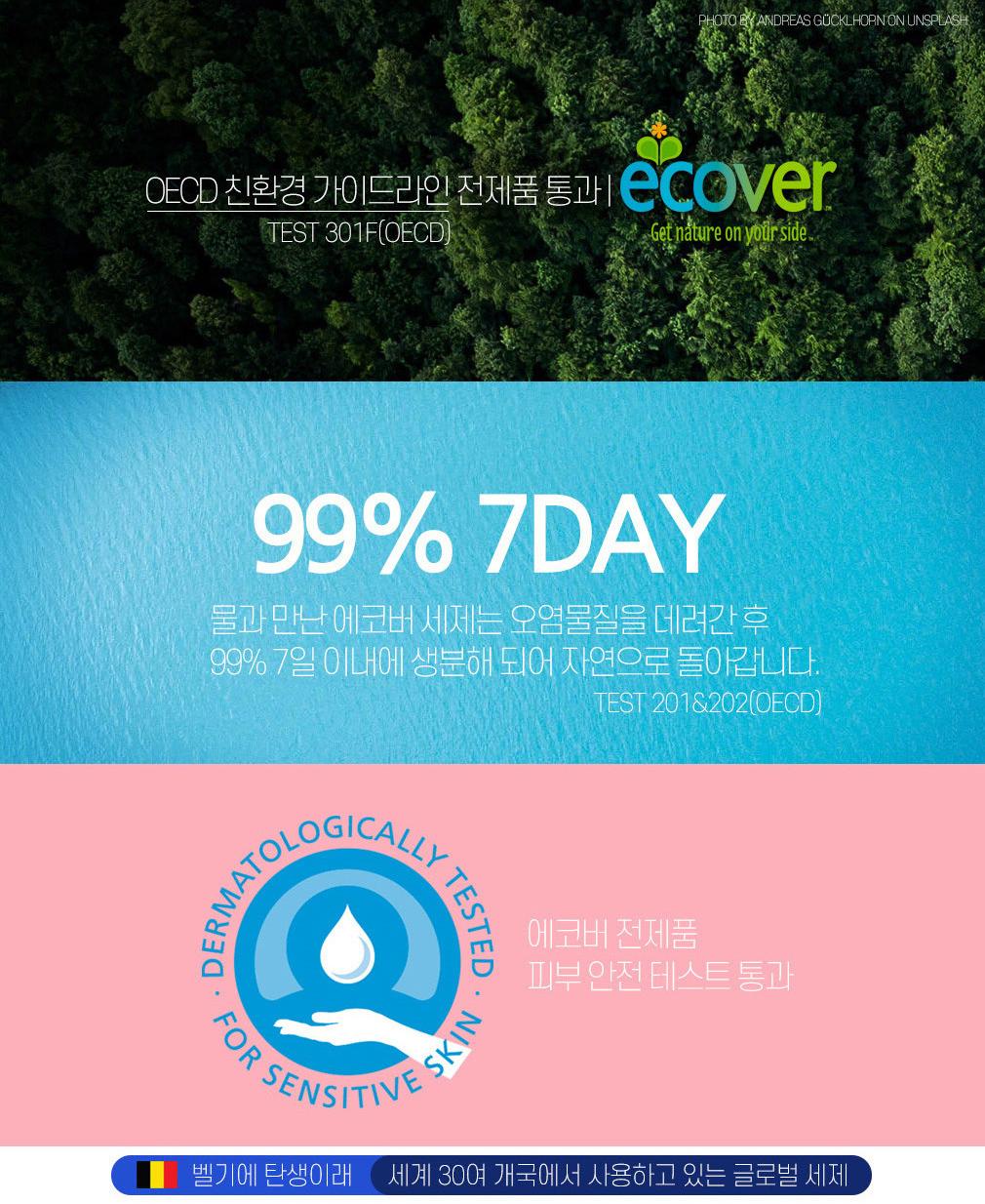 에코버 친환경 식기세척기세제 뉴올인원 440g - 주식회사 에코위시, 16,800원, 세제&섬유유연제, 주방 세정제