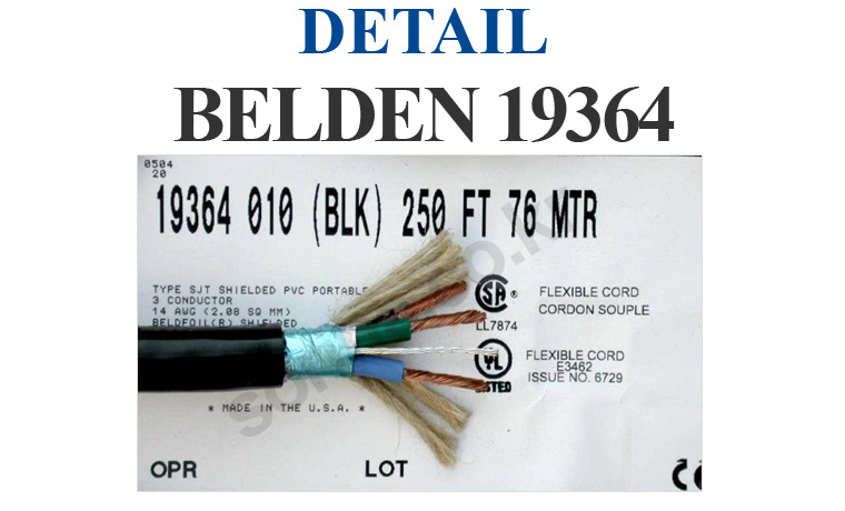 BELDEN 19364 Detail