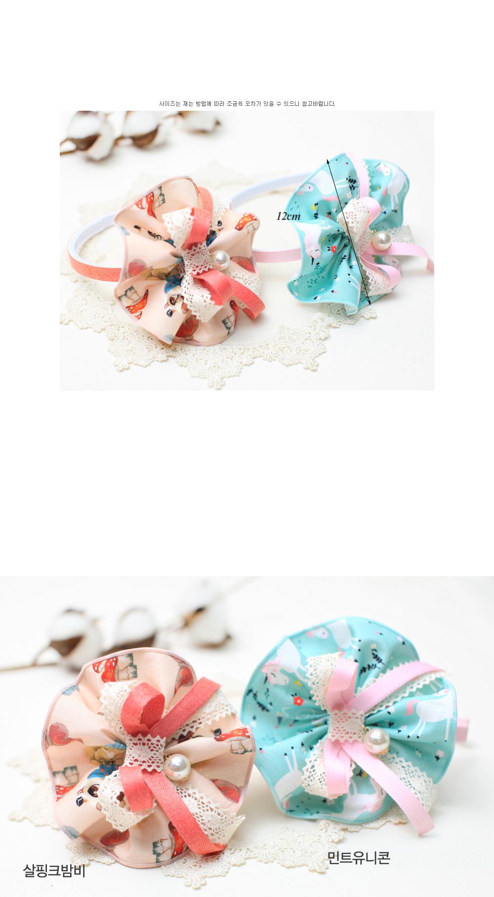 유니콘밤비 헤어밴드 (DIY-DW146) - 엔소엔, 4,800원, 리본공예, 리본공예 패키지