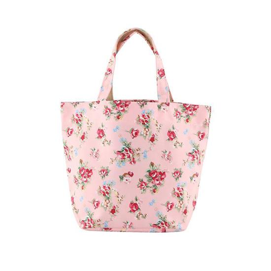 [BT105]장미꽃 토드백(핑크)