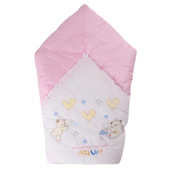 [AC115]겉싸개-아기와자수(핑크)