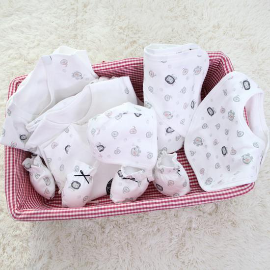 모던 출산선물 8종세트(핑크)