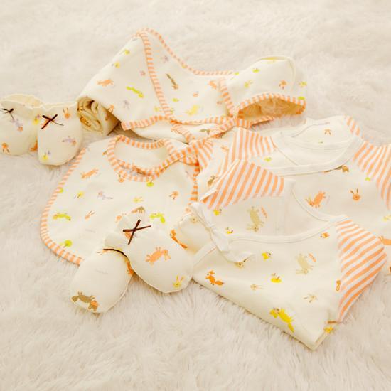 포레스트 쟈가드 출산선물 8종세트(오렌지)