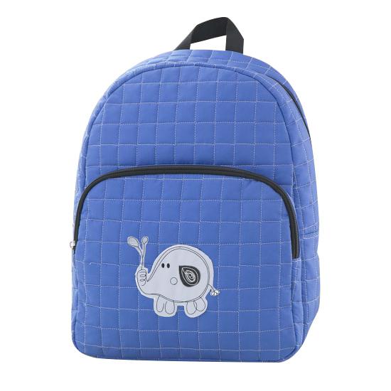 [BB102]퀼팅 와펜 백팩(블루)