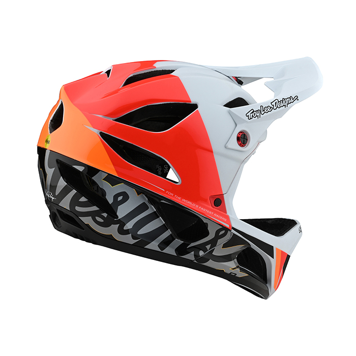 21 스테이지 MIPS 노바 화이트 풀페이스 헬멧