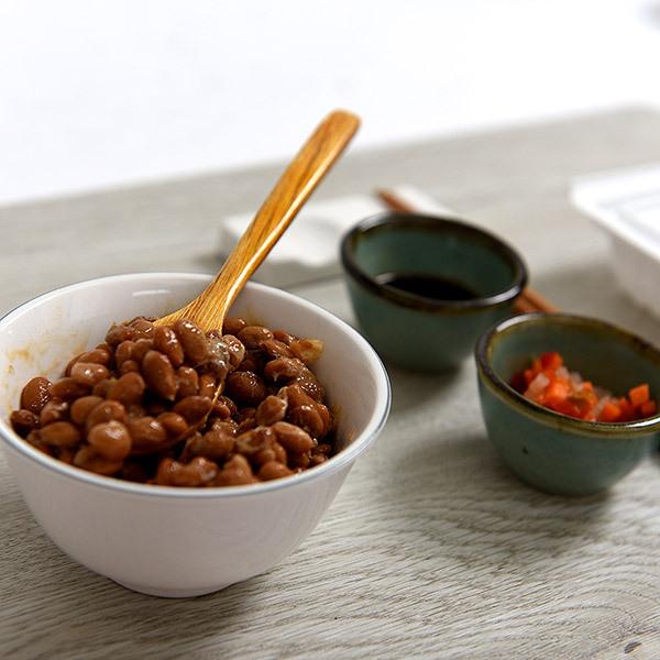 [제주콩] 생낫또 24팩(1팩 낫또45g+생야채토핑3g+다시마간장3g) 이미지