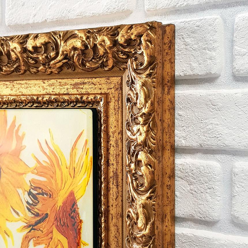 빈센트 반 고흐 해바라기 명화 벽걸이 액자 인테리어액자 홈갤러리 집들이선물 개업선물 이사선물