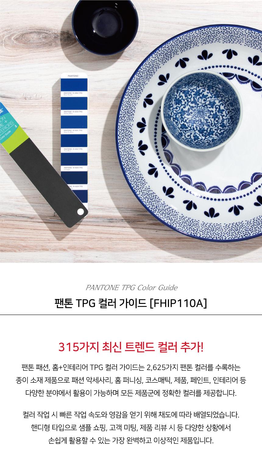 팬톤 TPG 컬러 가이드 FHIP110A