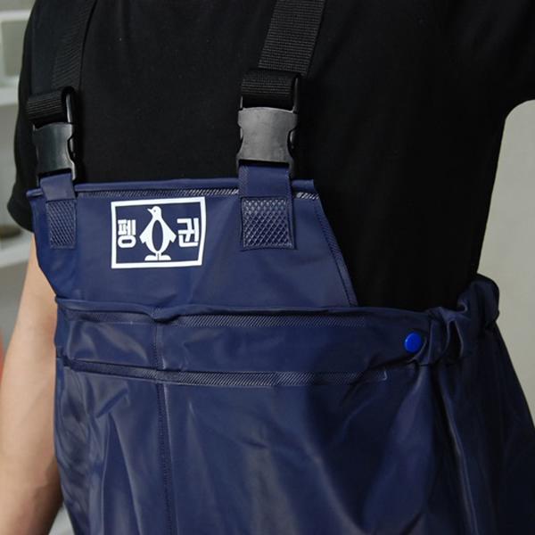 펭귄 콤비 멜빵 낚시장화 가슴장화_7
