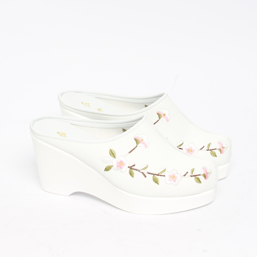 민속방 벚꽃 상굽 한복슬리퍼 (8cm)_8