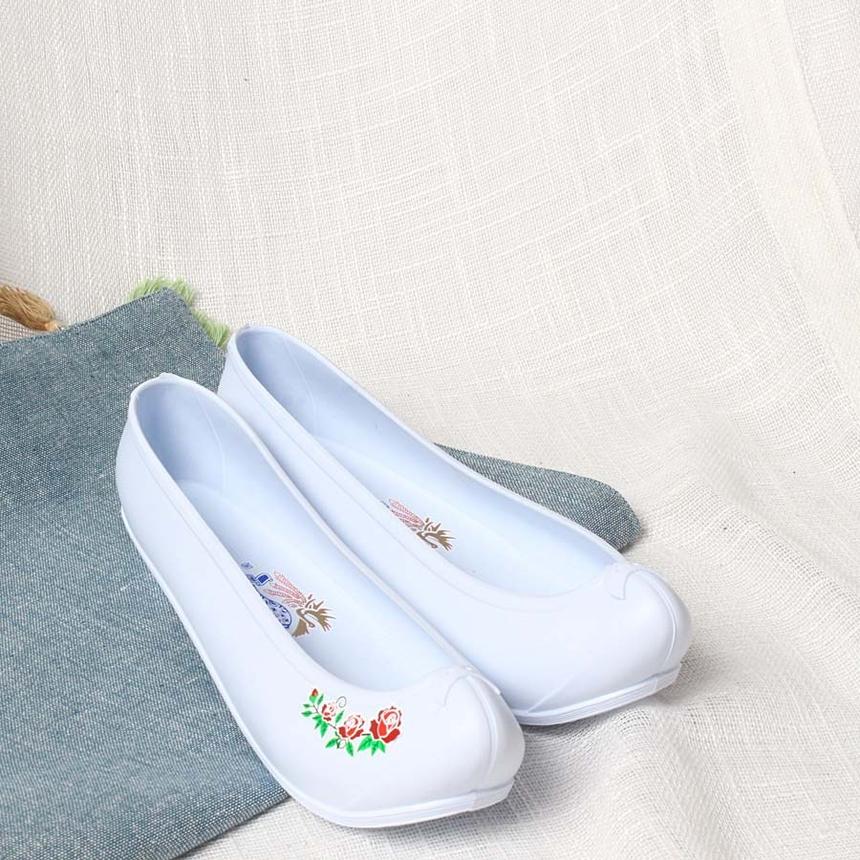 여성 고무신 한복화 한복신발 코고무신,한복신발,코고무신,하얀고무신,흰고무신,흰색고무신_2