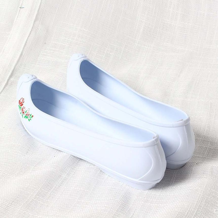 한복신발,코고무신,하얀고무신,흰고무신,흰색고무신_7