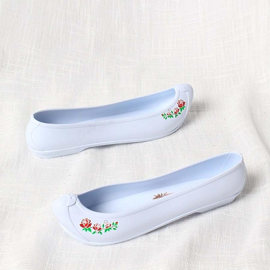 한복신발,코고무신,하얀고무신,흰고무신,흰색고무신_6