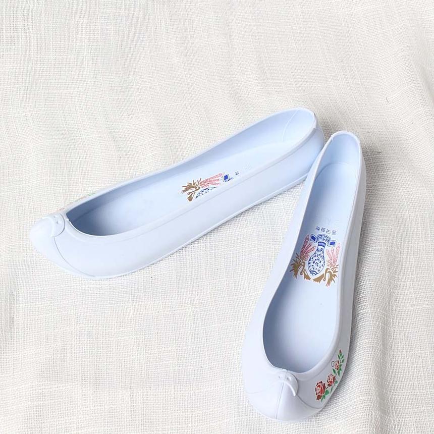 여성 고무신 한복화 한복신발 코고무신,한복신발,코고무신,하얀고무신,흰고무신,흰색고무신_4