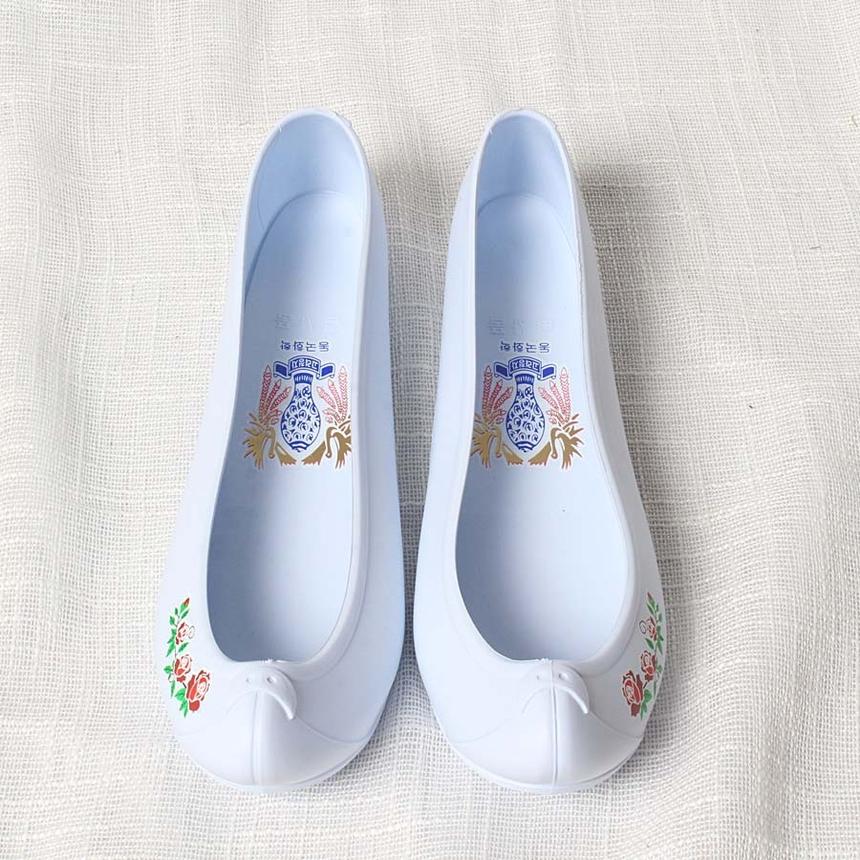 한복신발,코고무신,하얀고무신,흰고무신,흰색고무신_9