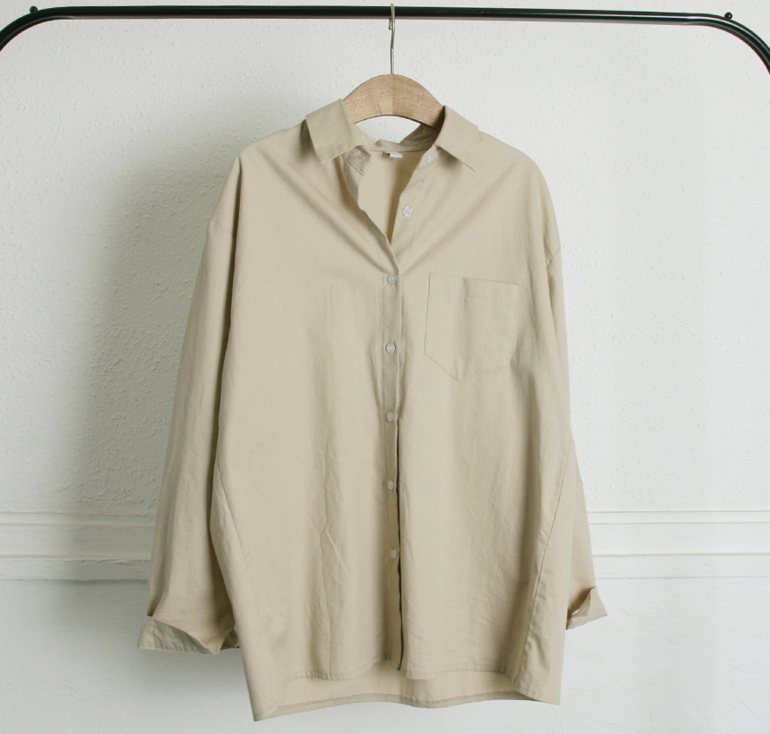 7e7b9cde0a0 G마켓 - 루즈핏여성셔츠 /데일리베이지셔츠/여성남방/카라셔츠