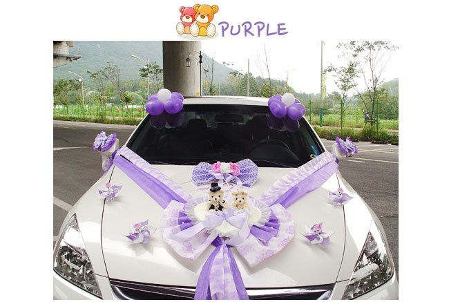 Modern wedding car decorations new wedding car decoration series modern wedding car decorations new wedding car decoration series cute bear kit with doll junglespirit Image collections