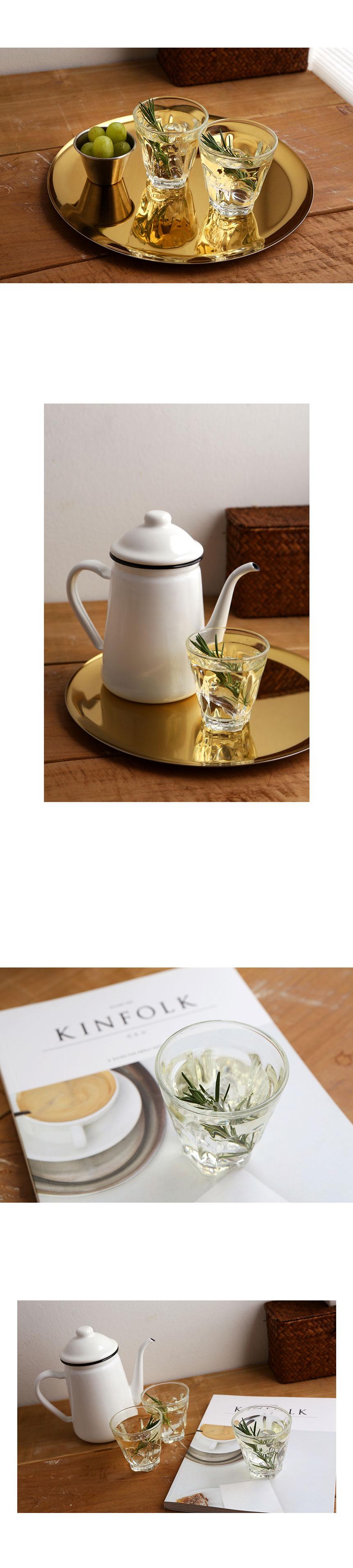 럭키글라스 앤틱 빈티지 카페 유리 커피잔컵 6oz.(170ml) - 글라스코, 1,220원, 유리컵/술잔, 유리컵