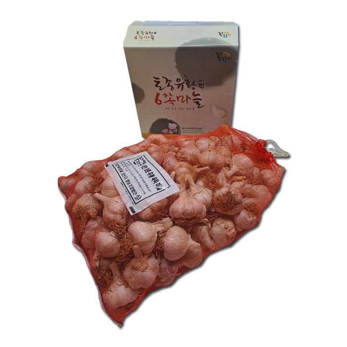 농가 직거래 [태안] 유황육쪽마늘 반접(50개) (2kg 내외) 2021년7월생산 이미지