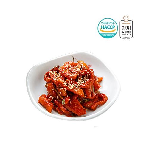 [한끼식당] 우리 농산물 100% 보쌈무 김치 1kg 이미지