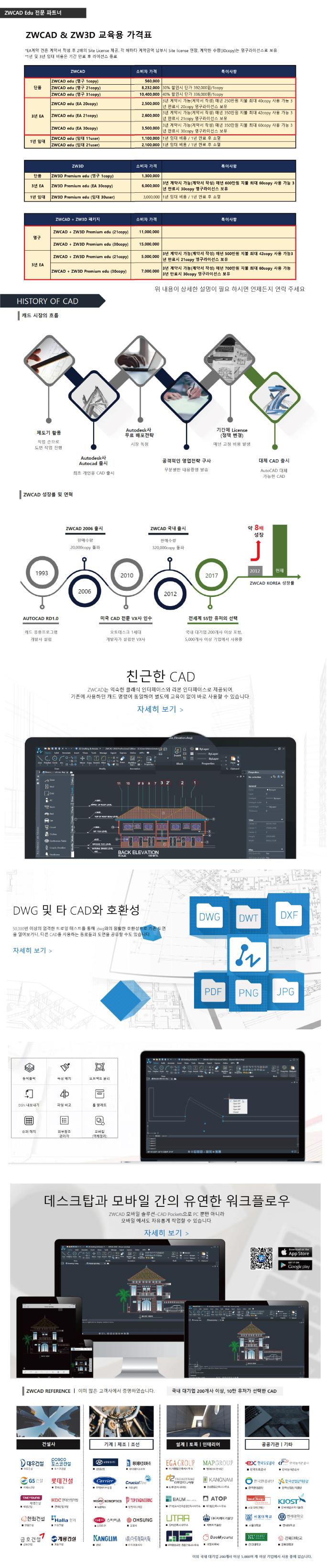 ZW3D Edu 영구버전 1copy, 3D 캐드 학원용