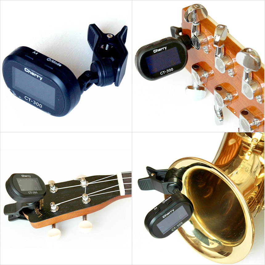 HGM 튜닝기  튜너 튜너기 조율기 클립형 다용도 우쿨렐레 우크델라 우크레레 우쿨레레  기타 바이올린 베이스 현악기 관악기 섹소폰 진동감지 CT300