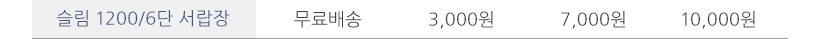 슬림 1200 6단 서랍장 - 셀레스타, 117,900원, 협탁/서랍장, 서랍장