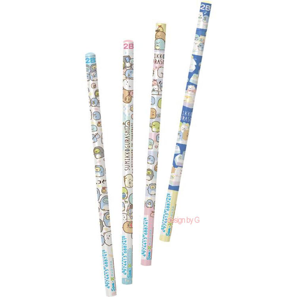 스밋코구라시스밋코구라시 2B 연필세트(4p)(남극여행)(일)