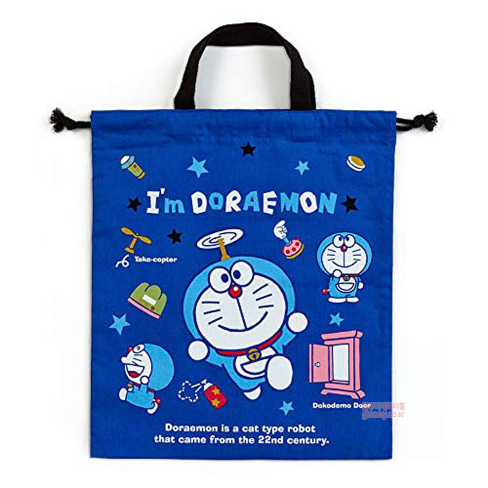 도라에몽도라에몽 손잡이 조리개 주머니(분홍문)(일) 687871