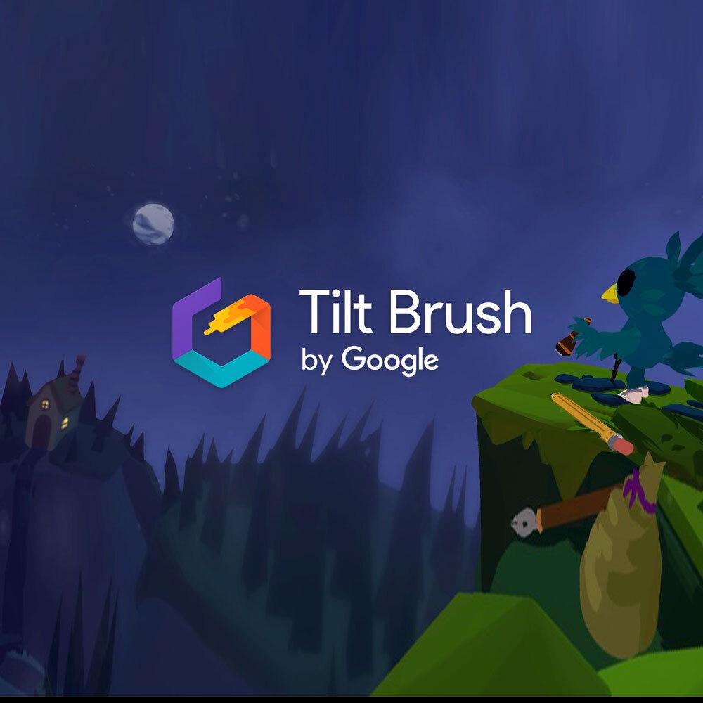 VR 체험 교육 콘텐츠 틸트 브러쉬 Tilt Brush