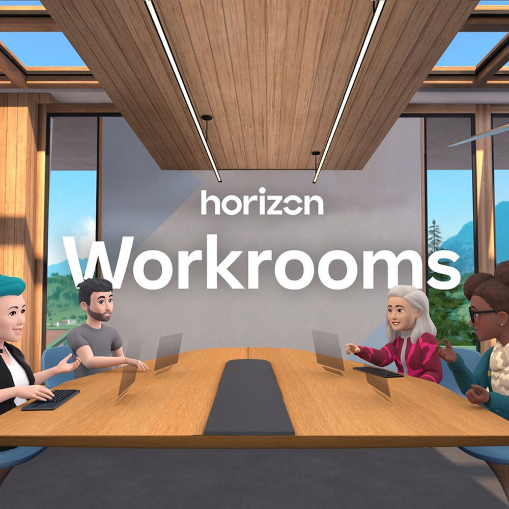 VR 체험 교육 콘텐츠 Horizon Workrooms(베타)