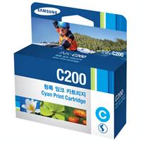 [삼성정품잉크] INK-C200 파랑잉크