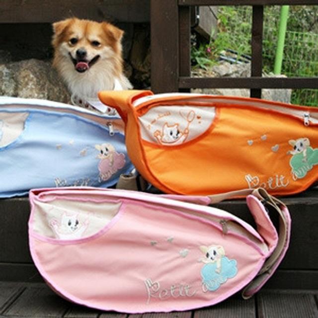 두기펫 강아지 애견 가방 에그 크로스백 L