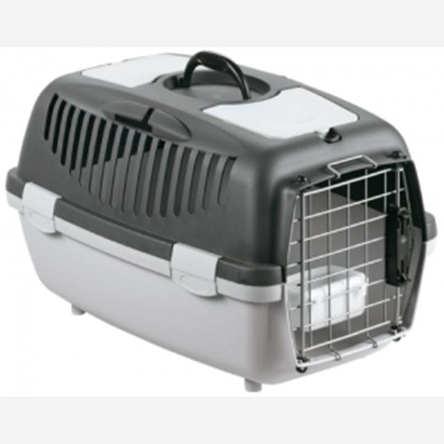 강아지 고양이 물통 철문 이동장 걸리버 디럭스2 M