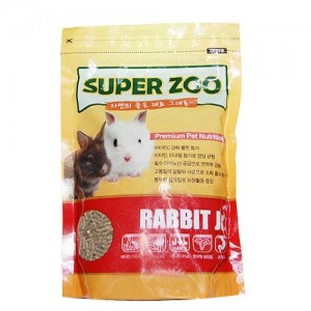토끼 사료 SuperZoo 어린토끼 자토 670g
