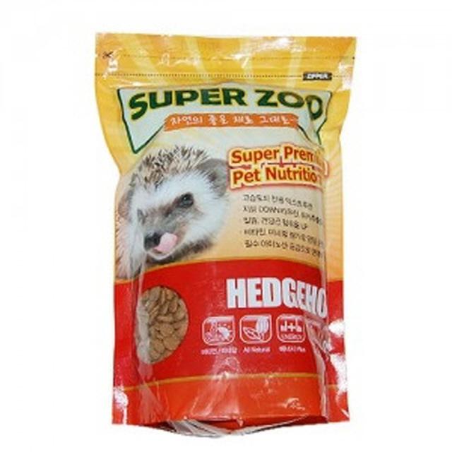 고슴도치 사료 SuperZoo 고슴도치 700g