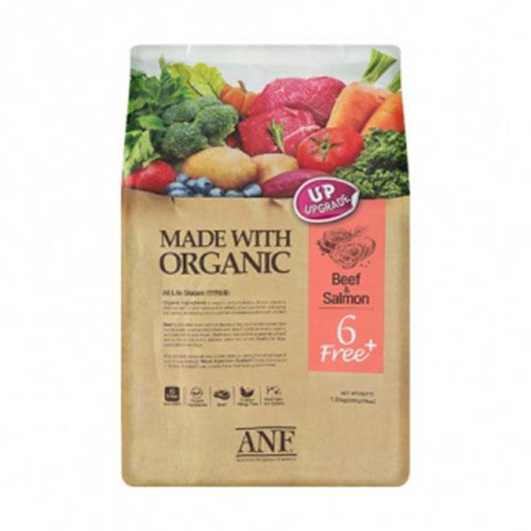 ANF 유기농 6free 플러스 소고기&연어 5.6kg